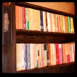 文庫本棚2段