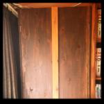 本棚4段 扉付き