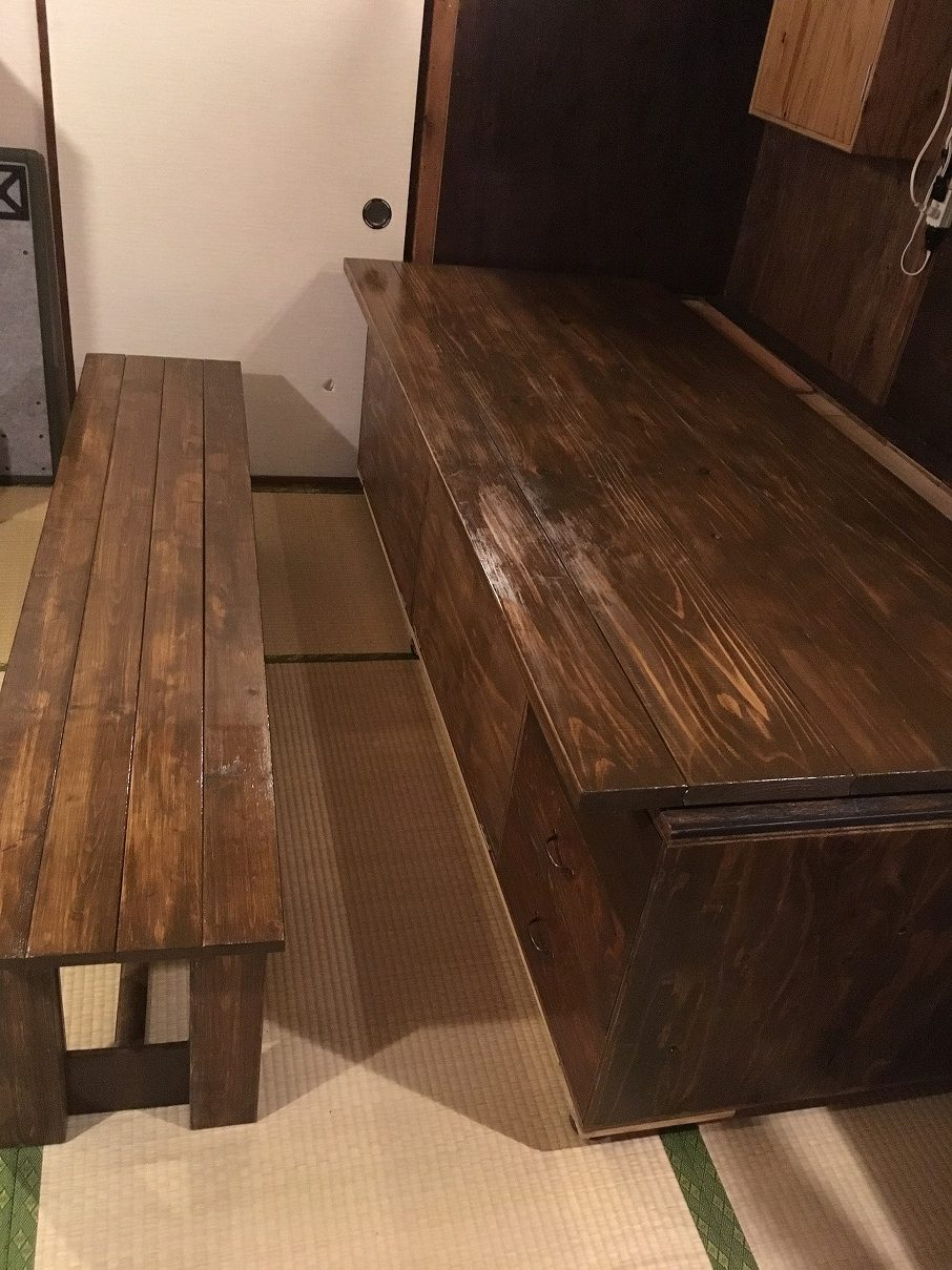 ダイニングテーブル2点セット 4