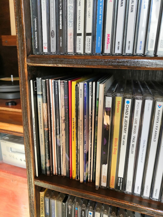 CD&文庫本棚 4
