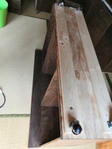 収納付き作業テーブル 5