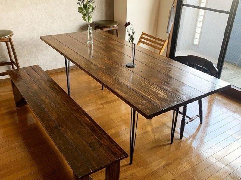 ダイニングテーブル2点セット 1